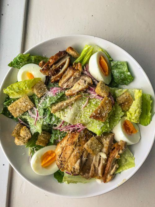 Gezonde Caesar salad