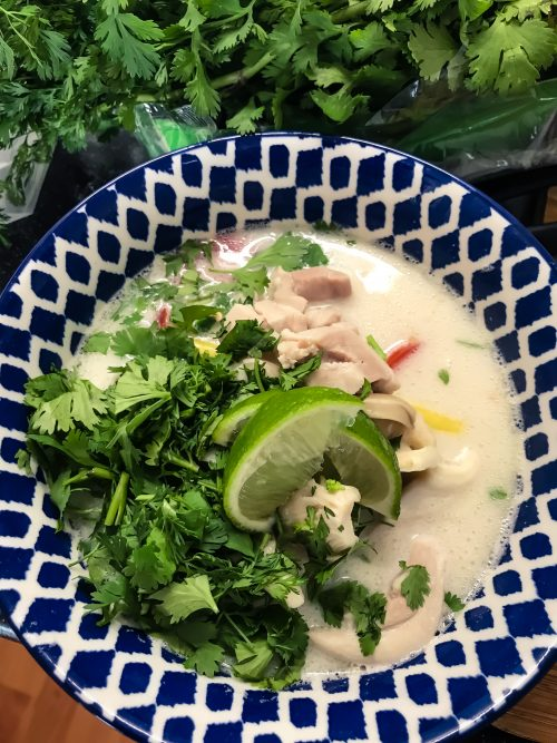 Tom Kha Kai – Thaise kokos soep